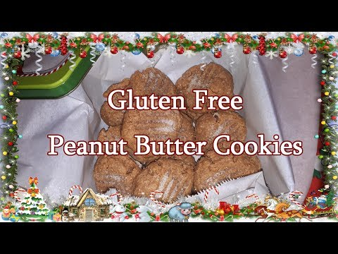 Gluten Free Peanut Butter Cookies For Arthur
