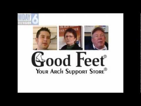 Plantar fasciitis Sioux Falls foot pain Good Feet arch supports orthotics back heel pain relief