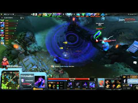 Cloud 9 vs Power Rangers Game 1   Dota 2 Champions League TobiWanDOTA  Clairvoyance