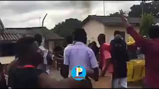 KNUST Students Protest, Cars and other properties destroyed