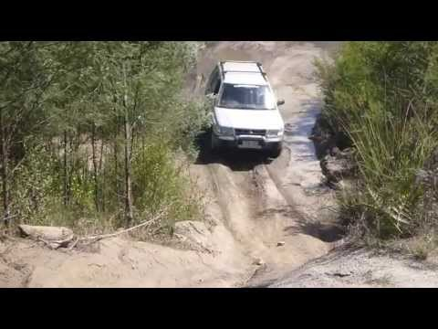 Subaru Forester Off Road - Bunyip State Park - Powerline Play Track 2