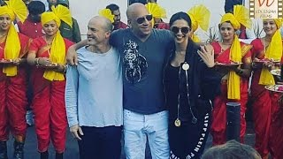 Vin Diesel Loves Indian Welcome With Deepika Padukone Xxx | Six Sigma Films