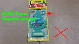 ✅  How To Use Little Trees Air Freshener Bayside Breeze Review