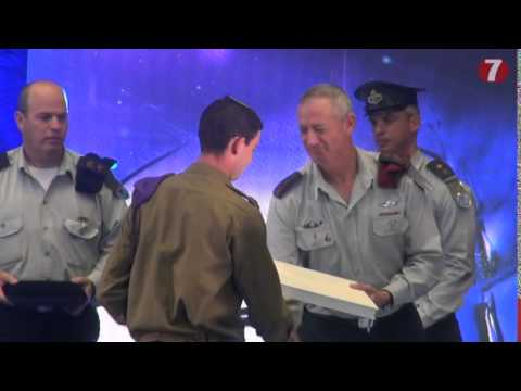 Lieutenant awarded second highest IDF honor for service during Operation Protective Edge