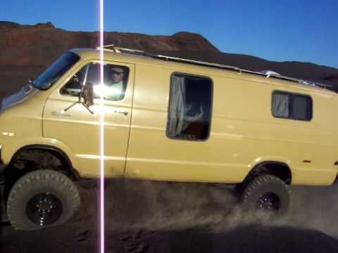 4x4 Tan Van - On