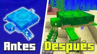 Minecraft - 10 COSAS que NO Sabías de las Tortugas - Rabahrex