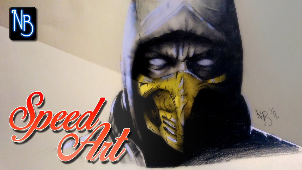 Scorpion mk Drawings Speed Art Drawing Scorpion