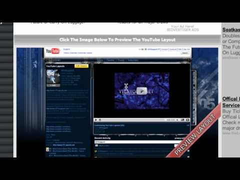 Get Free Youtube Layouts