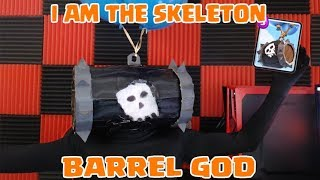 INSANE 12-Win Skeleton Barrel cycle deck WHILE DRESSED AS A SKELETON BARREL