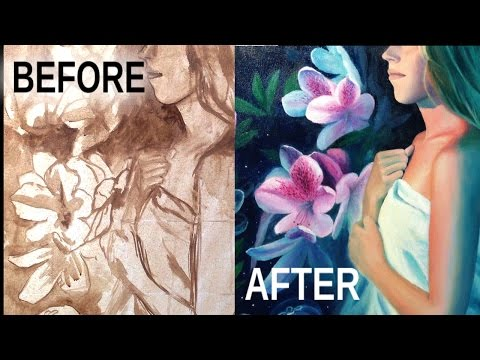 Oil Painting Basics | The Underpainting (for beginners)