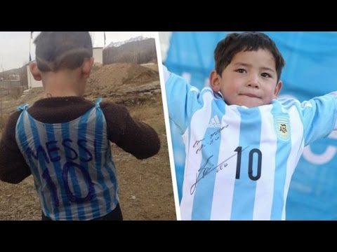 'Messi Boy' Viral Story Takes A Sad Turn As Family Flees Afghanistan
