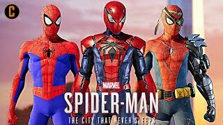 Spider-Man PS4: Silver Lining DLC Suits and Trailer Revealed! Ft: Caboose