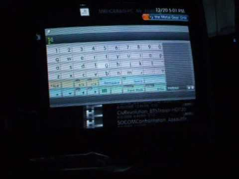 PS3 On screen keyboard glitch