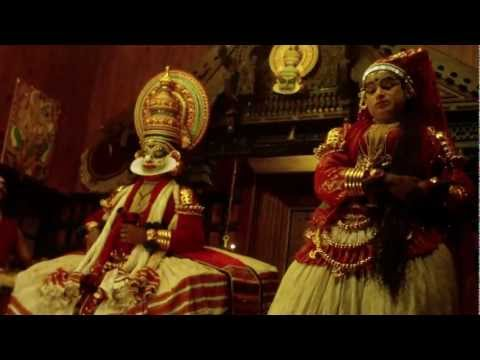 Kathakali traditional dance of Kerala, India - part 3
