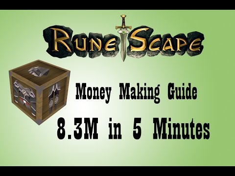 Runescape Money Making Guide 2014 | 8.3M in 5 Minutes | Giveaway Round 6
