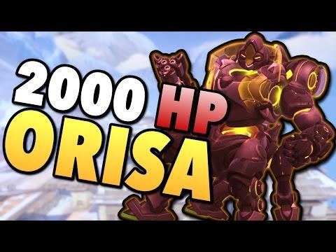 2000 HP ORISA 1v6 Raid Boss - Overwatch