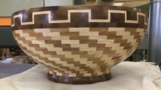 Segment Skål #19 | Segmented Bowl | Woodturning