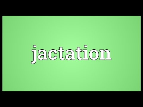 Header of jactation