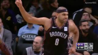 10 PTS in 4th Quarter Jared Dudley 13 PTS Full Highlights | Nets vs Lakers  2018.12.18 NBA Season