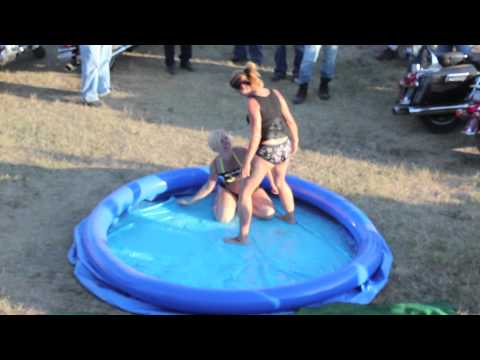 Lube Wrestling: Biker Lube vs Strip Club Choppers Sturgis 2012