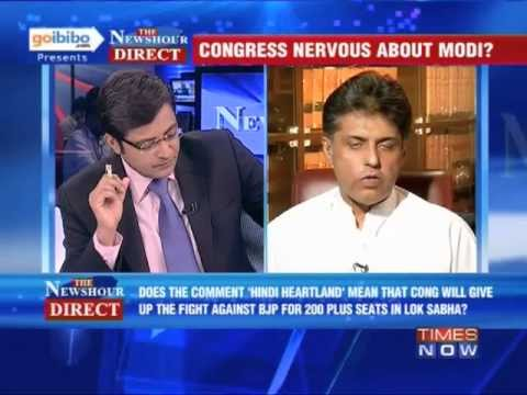 The Newshour Direct: Manish Tewari