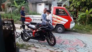 Delivery my new honda CBR250rr 2018