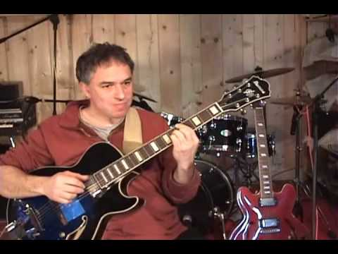 Earth, Wind and Fire - After the Love Has Gone, Solo Jazz Guitar by Jake Reichbart