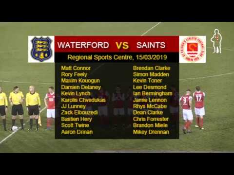 Highlights: Waterford 2 - Saints 0 (15/03/2019)