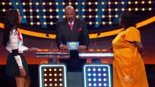 Anthony Anderson vs Toni Braxton l Celebrity Family Feud Episode 1 ( 2015 )