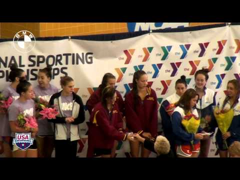 Women s 400m Free Relay Awards - 2012 YMCA Long Course National Championships