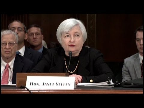 Janet Yellen Signals Stimulus Until Recovery Improves