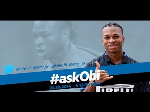 Live! Diretta streaming #askObi su Inter Channel 24.10.2014