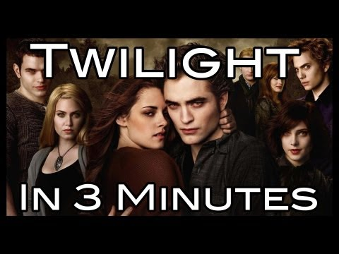 Twilight Saga in 3 minutes!