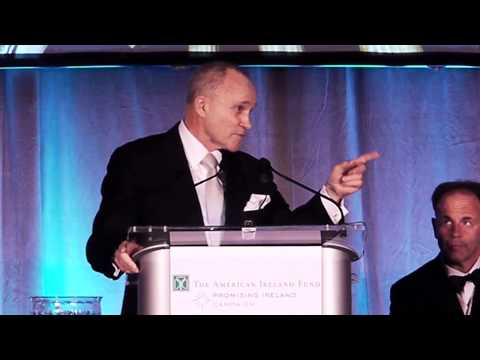 The Honorable Raymond W. Kelly at The American Ireland Fund New York Dinner