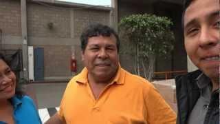 Diego LLontop Cerda viene de Italia en busca de su padre