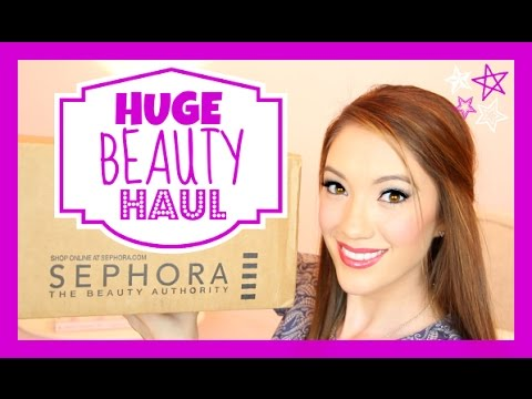 HUGE SEPHORA HAUL ♥ Makeup, Skincare & More! | Blair Fowler