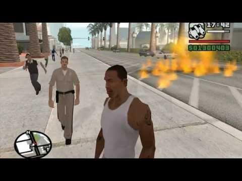 GTA San Andreas CHEATS Parte 1
