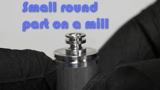 CNC Machining a Round Part with a Mill Instead of a Lathe (7075 aluminum) (4K 60)