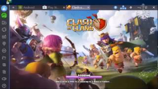How to play clash of clans on PC With BlueStacks