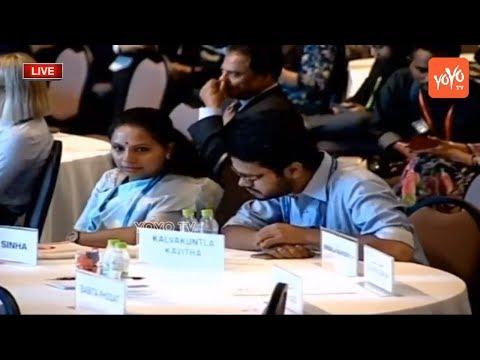 MP Kavitha LIVE | Telangana Jagruthi International Youth Leadership Conference | Day - 2 | YOYO TV