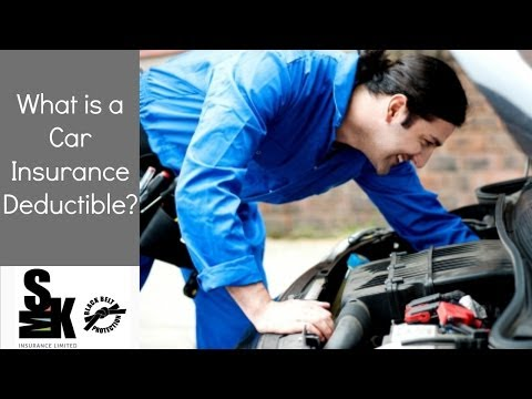 Car Insurance Halifax - What Is an Insurance Deductible?
