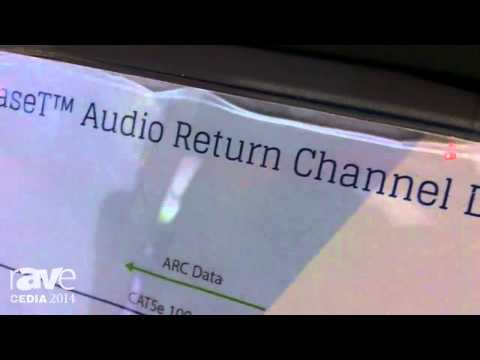 CEDIA 2014: HDBaseT Alliance Demos olligo HDBaseT 2.0 Compliant Chipset – Adds Audio Return Channel