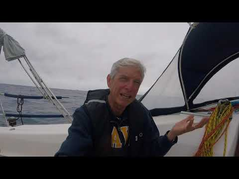 Ep 16 Sailing solo from Azores: Blue Water vs Coastal Sailing -- the Journey vs the Destination