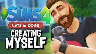 CREATING MYSELF in The Sims 4: Cats and Dogs