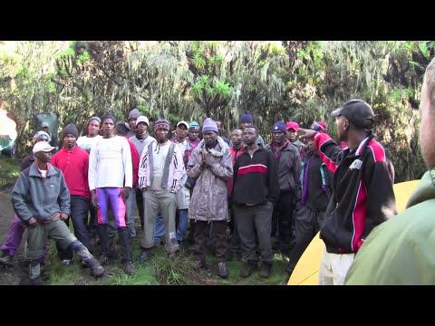 Kilimanjaro  - Post Summit Celebrations - Kilimanjaro Song - Mweka Camp Day 7