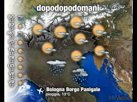 Meteo Italia a 3 giorni del 17/03/2013