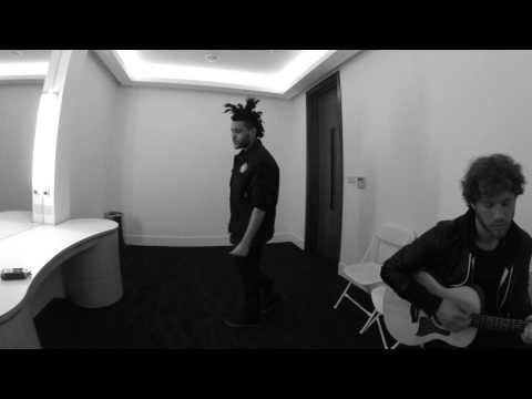 The Weeknd Backstage Warmups