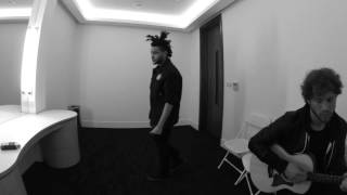 The Weeknd Video - The Weeknd Backstage Warmups