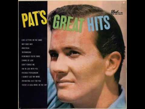 Pat Boone - Two Hearts Two Kisses