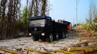 RC CONSTRUCTION l TIPPERS ON THE CONSTUCTION l  VERY NICE RC MACHINES special